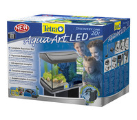 Tetra AquaArt LED Aquarium-Set, 20 Liter, anthrazit