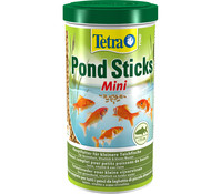 Tetra Pond Sticks Mini, Fischfutter, 1 l
