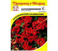 Thompson & Morgan Samen Kapuzinerkresse 'Cherry Rose Jewel'