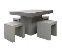 Tischgruppe Rockall, 5-teilig