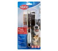 Trixie Bürste für Hunde und Katzen, beidseitig