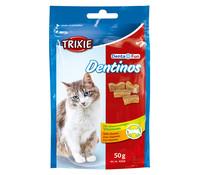 Trixie Dentinos mit Vitamine, Katzensnack, 50 g