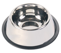 Trixie Edelstahlnapf für Langohrhunde, 900 ml