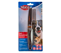 Trixie Fell-Entwirrer für Hunde und Katzen, mittel