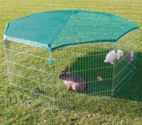 Trixie Freigehege mit Netz, 80x75 cm