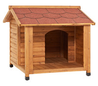 Trixie Hundehütte Blockhaus aus Kiefernholz