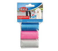 Trixie Hundekotbeutel mit Henkel, 3 x 15 Stück