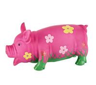 Trixie Hundespielzeug Blumenschwein aus Latex, 20 cm