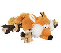 Trixie Hundespielzeug Fuchs, 34 cm