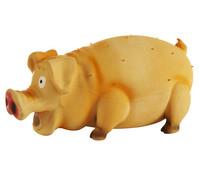 Trixie Hundespielzeug Latex-Borstenschwein, 21 cm