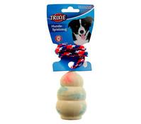 Trixie Hundespielzeug Naturgummi-Jumper am Seil, 30 cm