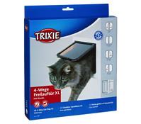 Trixie Katzenklappe 4-Wege-Freilauftür