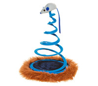 Trixie Katzenspielzeug Maus auf Spiralfeder