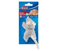 Trixie Katzenspielzeug Plüschmaus, 15 cm