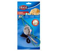 Trixie Katzenspielzeug Plüschmaus für den Türrahmen