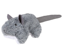 Trixie Katzenspielzeug Plüschmaus mit Katzenminze
