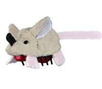 Trixie Katzenspielzeug Plüschrennmaus, 5,5 cm