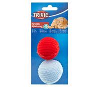Trixie Katzenspielzeug Strickbälle, 2 Stk.