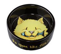 Trixie Keramiknapf für Katzen, Do you like fish, 0,3 l