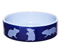 Trixie Keramiknapf mit Hamstermotiv, rund, 80 ml