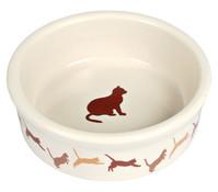 Trixie Keramiknapf mit Katzenmotiv, 0,2 l