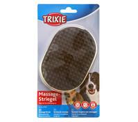 Trixie Massagestriegel für Hunde und Katzen, 9x13 cm