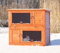 Trixie Natura Kleintierstall mit Wärmedämmung