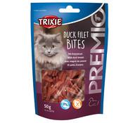 Trixie Premio Duck Filet Bites, Katzensnack, 50 g