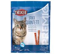 Trixie Premio Stick Quinett, Katzensnack, 5 x 5 g