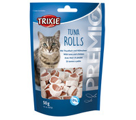 Trixie Premio Tuna Rolls Light, Katzensnack, 50 g