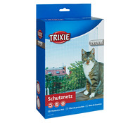 Trixie Schutznetz für Katzen, schwarz
