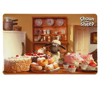 Trixie Shaun das Schaf Napfunterlage Foto