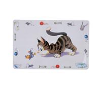 Trixie Tischset Comic-Katze