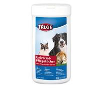 Trixie Universal-Pflegetücher für Hunde, Katzen und Kleintiere, 30 Stück