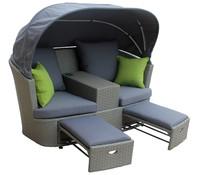 Twin Sofa mit Dachbezug