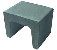 U-Stein, grau, 40 x 40 x 39,5 cm