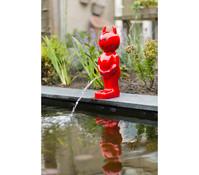 Ubbink Wasserspeier Boy Devil, rot