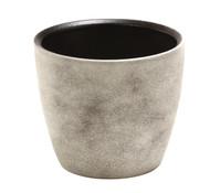 Übertopf aus Keramik Azalea Grau, Ø 15 cm