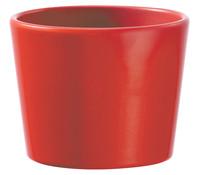 Übertopf aus Keramik, rund, Ø 11 cm