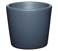 Übertopf aus Keramik, rund, Ø 7 cm