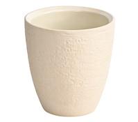 Übertopf aus Keramik, speziell für Orchideen, rund, Ø 14 cm