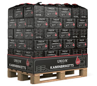 Union Kaminbriketts, 96 x 10 kg
