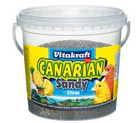 Vitakraft Canarian Sandy, Vogelsand mit Citrusduft, 2 kg