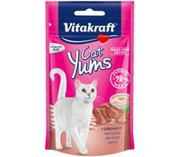 Vitakraft Cat Yums + Leberwurst, Katzensnack, 40 g