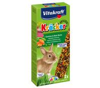 Vitakraft Kräcker Original mit Gemüse & Rote Beete für Kaninchen