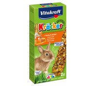 Vitakraft Kräcker Original mit Honig & Dinkel für Zwergkaninchen
