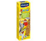 Vitakraft Kräcker Original mit Kiwi & Citrus für Großsittiche
