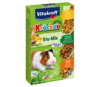 Vitakraft Kräcker Trio-Mix, Citrus, Gemüse & Honig für Meerschweinchen
