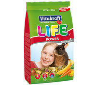 Vitakraft Life Power Zwergkaninchenfutter, 600 g
