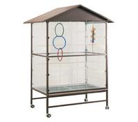 Voliere Villa Casa 120 für Vögel, 119x81x205 cm
